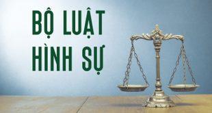 Clip tuyên truyền Bộ luật Hình sự 2015 sửa đổi, bổ sung 2017