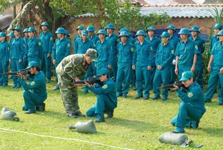 Chế độ, chính sách đối với dân quân tự vệ