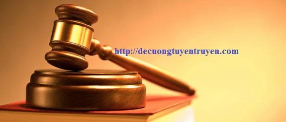 Kinh phí công tác tuyên truyền pháp luật