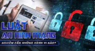 Sự cần thiết ban hành Luật An ninh mạng