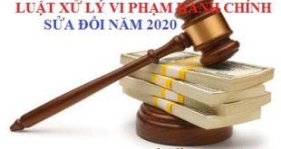 Đề cương tuyên truyền Luật Xử lý vi phạm hành chính năm 2020