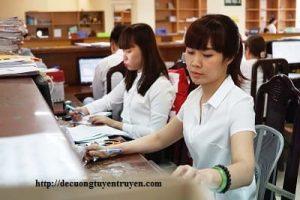 Tiêu chuẩn xét nâng ngạch công chức