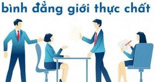 Tổng hợp các quy định pháp luật về bình đẳng giới ở Việt Nam